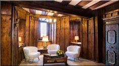 szép falburkolatok a nappaliban - Lakberendezés 10 Cottage Homes, Sweet Home, Curtains, Mirror, Country, Furniture, Home Decor, Diy, Vintage