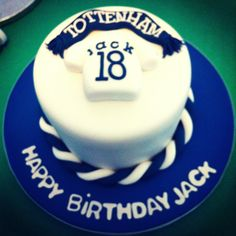 Tottenham Spurs Birthday Cake By  Chic Unique Cakes  @Corinne Bowen Hotspur