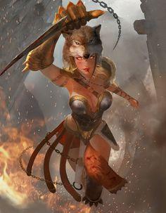 Lyssa - Godess of Madness by jaggudada on DeviantArt