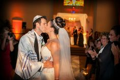 Jewish Wedding Ceremony {Jeff Kolodny Photography} - mazelmoments.com