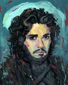 Game Of Thrones - Jon by Rich Pellegrino