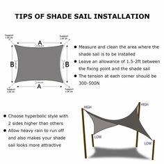 Shade&Beyond Rectangle Sun Shade Sail Sand Color for Patio Lawn Deck Garden Pergola Pool Shade, Backyard Shade, Pergola Shade, Deck With Pergola, Backyard Pergola, Pergola Kits, Pergola Ideas, Pergola Roof, Cheap Pergola