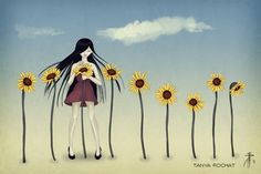 http://www.tanyarochat.com/portfolio/day-illustrations/ #trillustrations #illustrationart #illustrations #tanyarochat