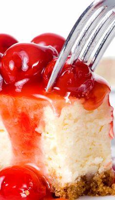 Easy Cherry Cheesecake