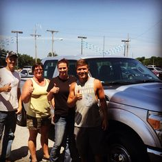 Angie and her BRAND NEW 2015 Ford F-250!!!