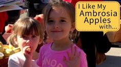 What Do You Like Your Ambrosia Apples With?