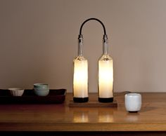 Eco Friendly Lamp: Twin