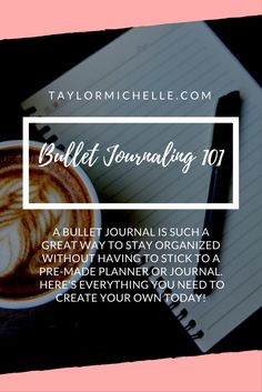 A Bullet Journal is such a great way to stay organized without having to stick to a pre-made planner or journal. Learn how to create your own today!