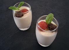 Vasitos de crema de queso manchego con tapenade y tomates cherry para #Mycook http://www.mycook.es/cocina/receta/vasitos-de-crema-de-queso-manchego-con-tapenade-y-tomates-cherry