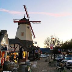 We came up to Solvang yesterday to spend the day with the kids. It's so cold! :snowflake: This morning we're heading to Mission Santa Inez and then some more exploring. Love these short getaways.