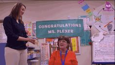 "((((( <3 ))))) #teacher #gratitude  Then they presented Mrs. Flexer with a ""Medal Of Awesome."" 