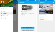 Google actualiza la app de Chromecast para iPhone y iPad