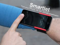 Smartlet: Turn your iPhone into the ultimate smartwatch! by Denos Ventures LLC — Kickstarter