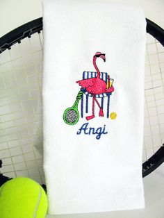 Tennis Gift Tennis Towel Personalized Tennis by TennisGiftsToGo, $19.95