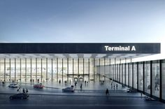 Amsterdam Airport Schiphol Terminal - Picture gallery