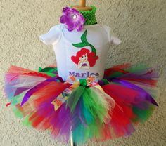 Personalized Under The Sea Mermaid Tutu Outfit