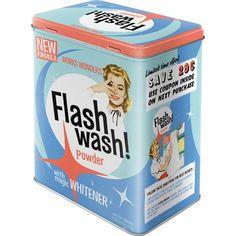 Nostalgic-Art 30124 Say it 50's Flash Wash, Vorratsdose L: Amazon.de: Küche…