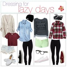 """""""For those laazy days :3"""" by the-polyvore-tipgirls on Polyvore"""