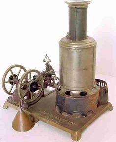 Weeden Steam-Toys-Vertical-Steam-Engine