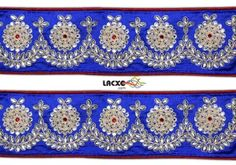 Kundan Work . This awesome design is of Kundan Work . Its product code is: 002721 , Its size is: 60 mm. Material used is 100% Polyester . This Kundan Work comes with Kundan decoration. As seen design pattern is Flower . Locally this lace is also known as Kundan Work Lace . This Kundan Work item have 1 colors available in this design. This lace can also be used in Saree , Saree Border etc.