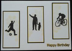 Clarity Stamps Wee Folk birthday card by Lynne Lee Clarity Card, Barbara Gray, Birthday Cards, Happy Birthday, Stamp Card, Masculine Cards, Faeries, Handmade Cards, Silhouettes