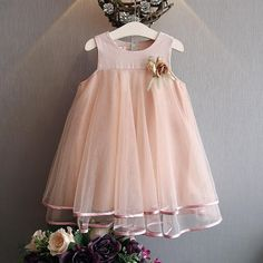Find More Dresses Information about 2016 Cute Kids Gils Tutu Flower Organza Dress Ruffles Sundress Pink and Gray Color Cute Baby Clothing Summer Fashion Clothes,High Quality clothing wrap,China clothes for small dogs Suppliers, Cheap clothes sweaters from Everweekend Kids Clothing Co.,Ltd on Aliexpress.com