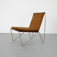 Mid-Century-Leather-Bachelor-Chair-by-Verner-Panton-Fritz-Hansen-Sessel-no-1
