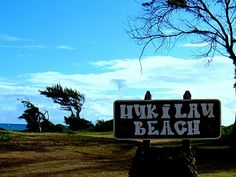 My favorite beach, Hukilau Beach. Also the place where me and @tiffanywyson will be spending everyday of our lives!