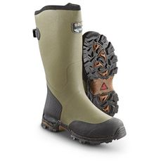 Sportsman's Guide has your Men's Rocky® Mudder Waterproof Boots, Green available at a great price in our Rubber & Rain Boots collection Rubber Shoes, Rubber Rain Boots, Tall Boots, Snow Boots, Me Too Shoes, Men's Shoes, Mens Waterproof Boots, Tactical Wear, Hunting Boots