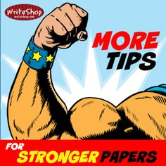 More tips for stronger papers
