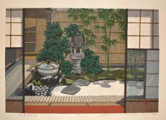 Masao Ido (1945-) - Seiun-an at Gion