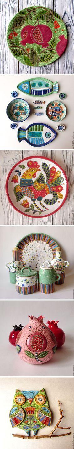Bright and inspiring ceramics by Irina Pankovskaya