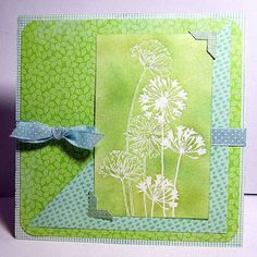 My card (I don't normally pin myself!) but I just love ideas for this agapanthus stamp and hope others do too!