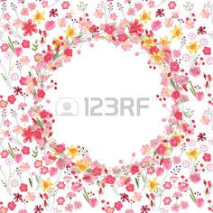Round summer wreath with roses and different flowers For season design announcements postcards poste Stock Vector Different Flowers, Flower Frame, Summer Wreath, Vector Art, Postcards, Frames, Clip Art, Wreaths, Seasons