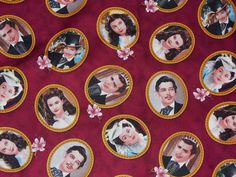 Gone with the Wind Fabric / Scarlett, Rhett, Ashley, & Melanie / Realistic Portraits / OOP / Half Yard by trinketsintheattic on Etsy https://www.etsy.com/listing/94038420/gone-with-the-wind-fabric-scarlett-rhett