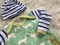 Organic baby boy coming home outfit Deer print with by Londinlux, $58.00