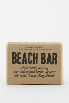Barnaby Black Bar Soap