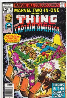 Marvel Two-In-One #42 Thing & Captain America Bronze Age Comics F