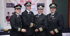 India's national carrier Air India made history by flying the world's longest continuous flight operated by an all-women crew.