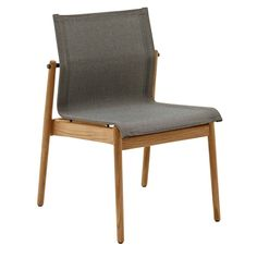 GLOSTER - SWAY STACKING SIDE CHAIR NEW 2016