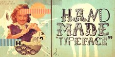 Handmade & other amazing Fonts --Misprinted Type