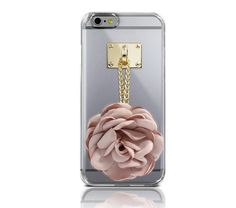 DREAMPLUS FLOWER CHARMING CLEAR PHONE CASE FOR GALAXY S6 EDGE