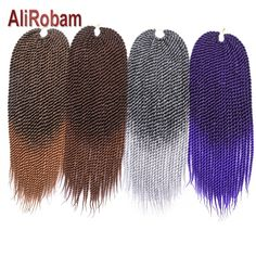 Hair Extensions & Wigs Spirited Razeal 24 165g Jumbo Braids Braiding Hair Kanekalon Braiding Hair Pure Color Synthetic Hair Extensions Crochet Braids 1 Pack