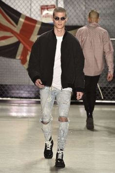 Male Fashion Trends: Represent Fall-Winter 2017 - New York Fashion Week Men's