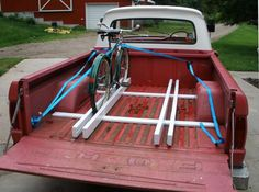 DIY bike rack for truck bed - Google Search