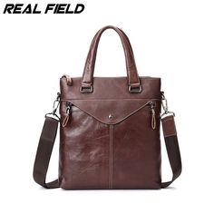 men quotes Real Field RF Brand Men Burnished Genuine Leather Tote Handbags Male Small Messenger Crossbody Shoulder Coffee Travel Bags 116 * Details on this product can be viewed by clicking the VISIT button