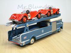 Dinky Toys Bedford 'MG' Race Car Transporter
