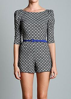 Retro Print Romper from Ark & Co