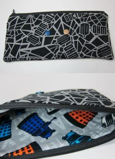 Doctor Who zipper pouch by LovelyMiss