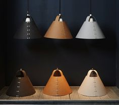 Shigeki Fujishiro's Rivet Lampshades: Remodelista